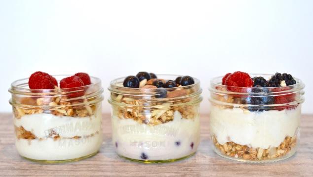 yogurt-parfaits-three-types