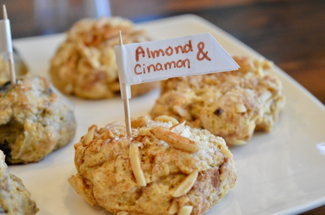 Almond Cinamon Scone