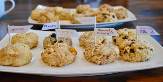 Scone Bar with 6 flavours
