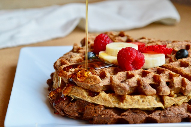 Healthy Breakfast Waffels 1